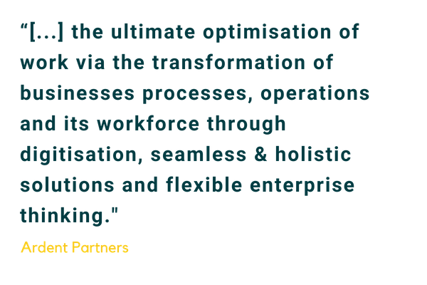 Ardent Partners Quote on the Future of Work