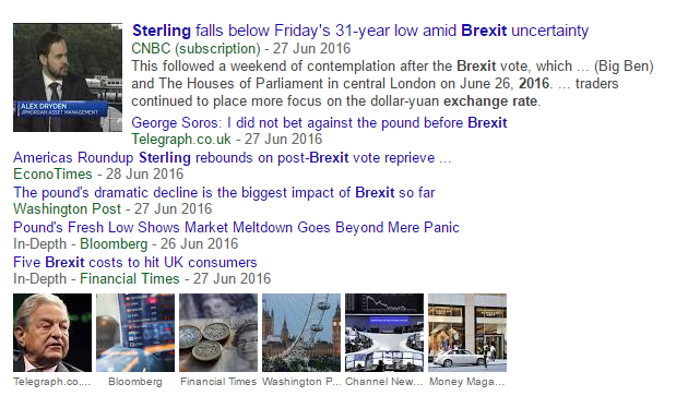 Brexits Impact on the pound and economic uncertainty