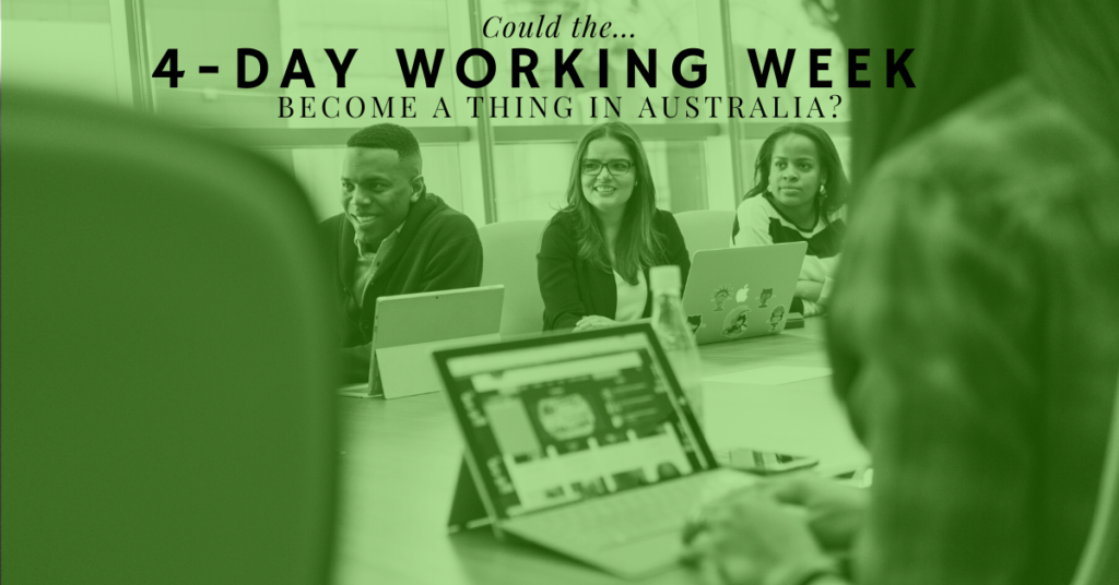 4-day working week Australia