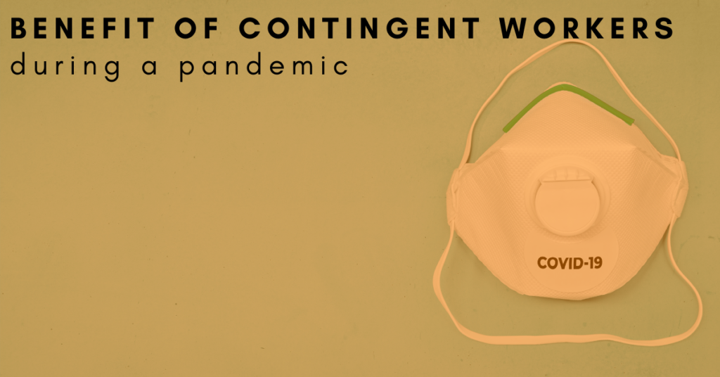 contingent workforce during a pandemic