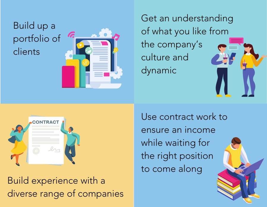 Benefits of contracting career